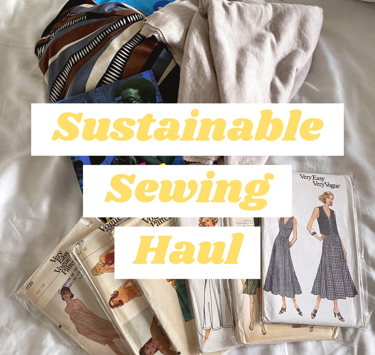 A Sustainable SewingHaul